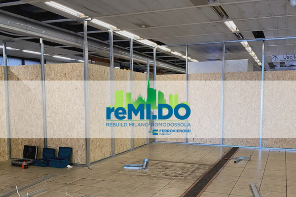 09/02/2021, Progetto reMI.DO: iniziano i lavori di ristrutturazione nella zona atrio