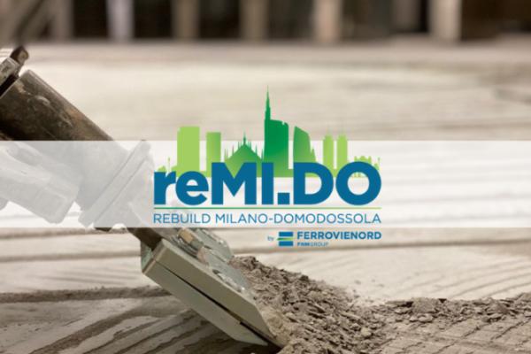 12/04/2021, progetto reMI.DO: Proseguono i lavori di ristrutturazione nella Zona Atrio della stazione di Milano-Domodossola di FERROVIENORD: rimossi controsoffitti e pavimenti